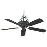 Savoy House Outdoor Living Veranda Ceiling Fan in Horseshoe Black 52-PFH-5-24 photo thumbnail