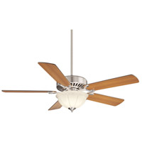 Savoy House 52-SGB-5RV-SN Barbour Island 52 inch Satin Nickel with Walnut/Teak Blades Ceiling Fan