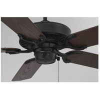 Savoy House 52-SGO-5CN-FB Lancer 52 inch Flat Black with Chestnut Blades Outdoor Ceiling Fan alternative photo thumbnail