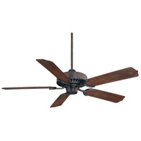 Lancer 52 inch English Bronze with Walnut Blades Ceiling Fan