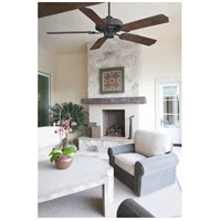 Savoy House 52-SGO-5WA-13 Lancer 52 inch English Bronze with Walnut Blades Outdoor Ceiling Fan alternative photo thumbnail
