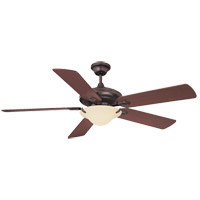 Savoy House Macon 1 Light Ceiling Fan in English Bronze 52P-604-5HK-13