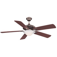 Savoy House Macon 1 Light Ceiling Fan in Brushed Pewter 52P-604-5WA-187