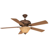 Savoy House Peachtree 3 Light Ceiling Fan in New Tortoise Shell 52P-614-5PA-56