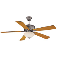 Savoy House 52P-646-5RV-187 St. Simons 52 inch Brushed Pewter with Walnut/Teak Blades Ceiling Fan alternative photo thumbnail