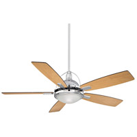 Savoy House Shasta 1 Light All-In-One Fan in Chrome 54-220-5RV-CH photo thumbnail