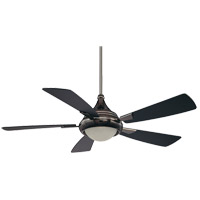 Savoy House Zephyr 1 Light Ceiling Fan in Mercury Black 54-471-5FB-250