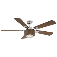 Savoy House 54-6000-5DW-109 Winchester 54 inch Polished Nickel with Dark Wood Blades Ceiling Fan