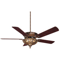 Savoy House Coyaba 3 Light Ceiling Fan in New Tortoise Shell (Blades sold separately) 55-600-MO-56 photo thumbnail