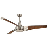 Savoy House Ariel 1 Light Ceiling Fan in Satin Nickel 55-818-3CN-SN