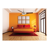 Savoy House 55-818-3CN-SN Ariel 55 inch Satin Nickel with Chestnut Blades Ceiling Fan alternative photo thumbnail