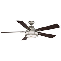 Del Rio 56 inch Satin Nickel Ceiling Fan
