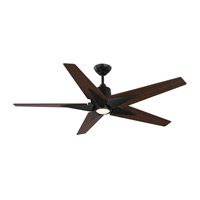 Savoy House 56-5075-5WA-13 Buckenham 56 inch English Bronze with Walnut Blades Ceiling Fan