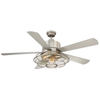 Connell 56 inch Satin Nickel Ceiling Fan
