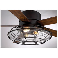 Savoy House 56-578-5WA-13 Connell 56 inch English Bronze with Walnut Blades Ceiling Fan alternative photo thumbnail