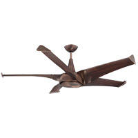Savoy House Ariel 1 Light Ceiling Fan in Byzantine Bronze 58-818-5WA-35