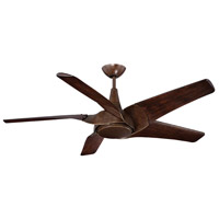 Savoy House Indra 1 Light Ceiling Fan in Walnut 58-819-5WA-37 photo thumbnail