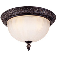 Savoy House Bedford 2 Light Flush Mount in Distressed Bronze 6-048-13-59