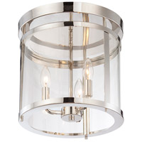 Savoy House 6-1043-3-109 Penrose 3 Light 13 inch Polished Nickel Semi-Flush Mount Ceiling Light alternative photo thumbnail
