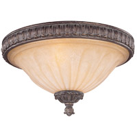 Savoy House Arte Nouveau Valence 2 Light Flush Mount in El Taramar 6-1261-13-131 photo thumbnail