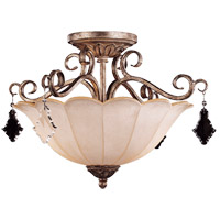 Savoy House Antoinette 2 Light Semi-Flush in New Mocha 6-1395-2-256