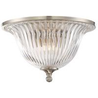 Savoy House 6-150-14-SN Aberdeen 2 Light 14 inch Satin Nickel Flush Mount Ceiling Light