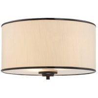 Grove 2 Light 14 inch English Bronze Flush Mount Ceiling Light