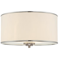 Grove 2 Light 14 inch Satin Nickel Flush Mount Ceiling Light