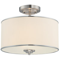 Savoy House 6-1501-2-SN Grove 2 Light 14 inch Satin Nickel Semi-Flush Mount Ceiling Light alternative photo thumbnail