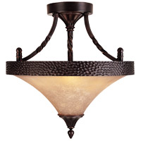 Savoy House Essex 3 Light Semi-Flush in English Bronze 6-1677-2-13 photo thumbnail
