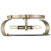 Savoy House 6-2158-16-127 Drummond 4 Light 16 inch Noble Brass Flush Mount Ceiling Light