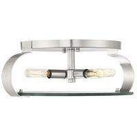 Savoy House 6-2158-16-SN Drummond 4 Light 16 inch Satin Nickel Flush Mount Ceiling Light