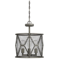 Savoy House 6-2163-3-119 Arbor 3 Light 15 inch Smoke Semi-Flush Mount Ceiling Light, Convertible alternative photo thumbnail