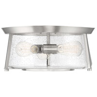 Savoy House 6-2182-16-SN Dash 3 Light 16 inch Satin Nickel Flush Mount Ceiling Light