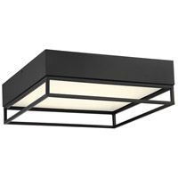 Savoy House 6-2190-14-13 Creswell LED 14 inch English Bronze Flush Mount Ceiling Light Square