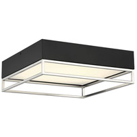Savoy House 6-2190-14-SN Creswell LED 14 inch Satin Nickel Flush Mount Ceiling Light Square