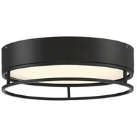 Savoy House 6-2191-15-13 Creswell LED 15 inch English Bronze Flush Mount Ceiling Light Oval