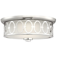 Savoy House 6-2390-14-109 Sherrill LED 14 inch Polished Nickel Outdoor Flush Mount