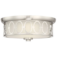 Savoy House 6-2390-14-SN Sherrill LED 14 inch Satin Nickel Outdoor Flush Mount