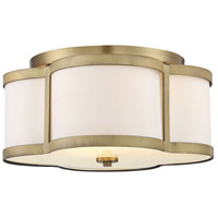 Savoy House 6-2706-3-322 Lacey 3 Light 16 inch Warm Brass Semi-Flush Mount Ceiling Light