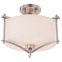 Savoy House 6-334-2-SN Colton 2 Light 15 inch Satin Nickel Semi-Flush Mount Ceiling Light alternative photo thumbnail