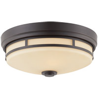 Savoy House Signature 3 Light Flush Mount in Slate 6-3340-15-25
