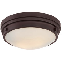Lucerne 2 Light 13 inch English Bronze Flush Mount Ceiling Light