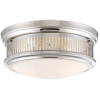 Savoy House Sanford 2 Light Flush Mount in Polished Nickel 6-3360-13-109