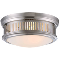Savoy House 6-3360-13-SN Sanford 2 Light 13 inch Satin Nickel Flush Mount Ceiling Light
