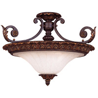 Savoy House Cordoba 3 Light Semi-Flush in Antique Copper 6-4091-21-16