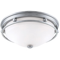 Signature 2 Light 13 inch Brushed Pewter Flush Mount Ceiling Light