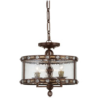 Savoy House 6-6032-3-131 Paragon 3 Light 17 inch Gilded Bronze Semi-Flush Mount Ceiling Light alternative photo thumbnail