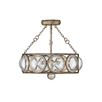 Savoy House 6-6702-3-114 Warwick 3 Light 18 inch Brittannia Gold Semi-Flush Mount Ceiling Light, Convertible alternative photo thumbnail