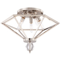 Savoy House Tekoa 5 Light Flush Mount in Polished Nickel 6-682-5-109